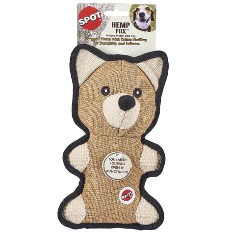 Spot Naturals Hemp Fox Dog Chew Toy