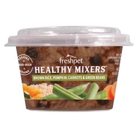 Freshpet Brown Rice, Pumpkin, Carrots & Green Beans Healthy Mixers Wet Dog Food