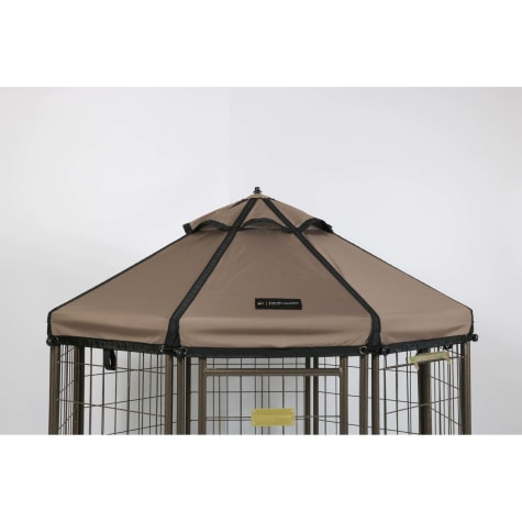 Advantek Pet Gazebo Canopy Earth Taupe