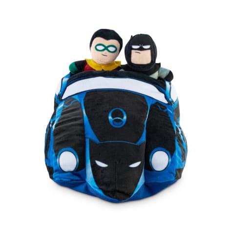 DC Comics Justice League Batmobile Foraging Dog Toy Set