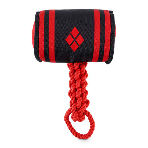 DC Comics Justice League Harley Quinn Mallet Rope Dog Toy