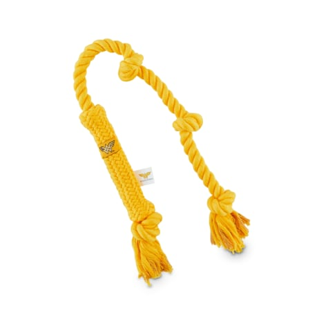 DC Comics Justice League Wonder Woman Lasso Of Truth Rope Dog Toy