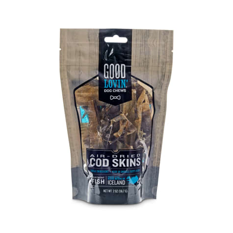 Good Lovin' Air-Dried Cod Skin Dog Chews