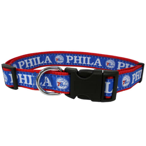 Pets First NBA 76ERS Dog Collar
