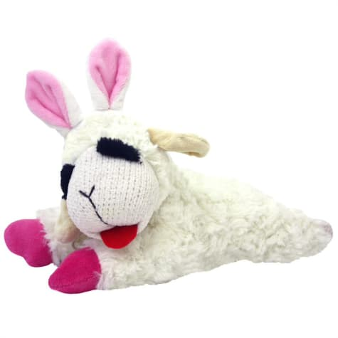 Multipet Lamb Chop with Bunny Ears Dog Toy