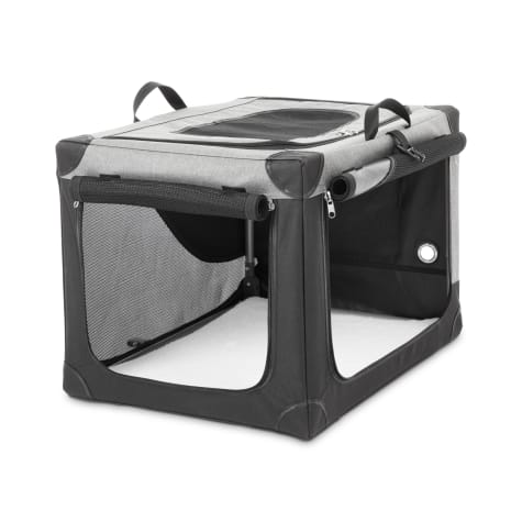 You & Me Stow & Go Portable Canvas Dog Crate
