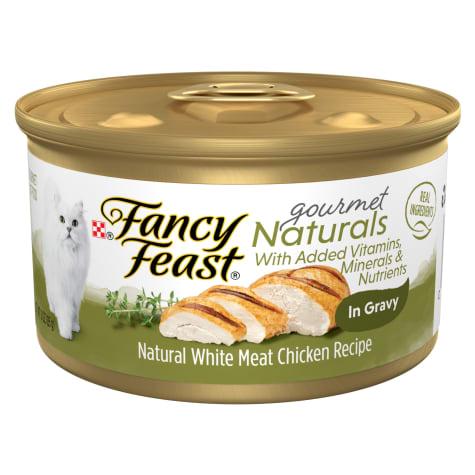 Fancy Feast Gourmet Naturals White Meat Chicken Recipe in Gravy Wet Cat Food