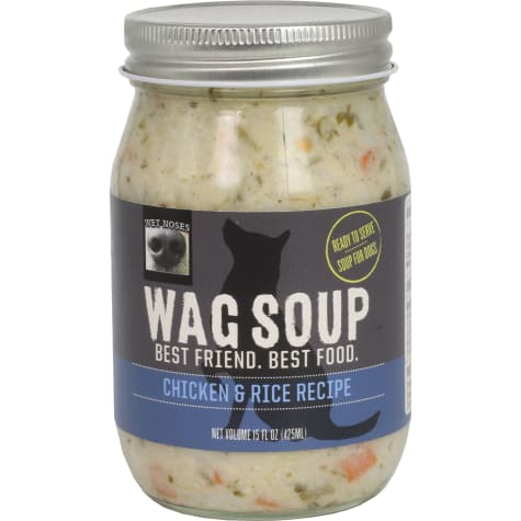 Wet Noses Wag Soup Chicken and Rice Wet Dog Food