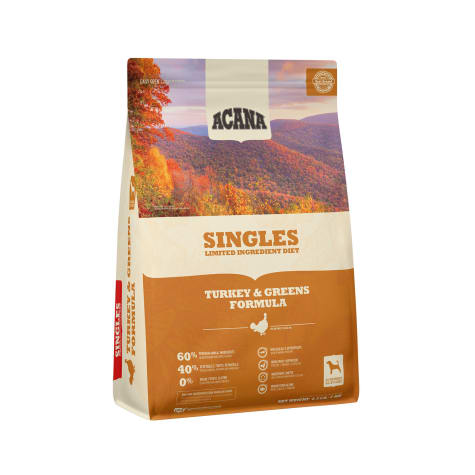 ACANA Singles Turkey & Greens Dry Dog Food