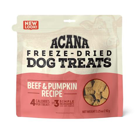 ACANA Singles Freeze-Dried Beef and Pumpkin Dog Treats