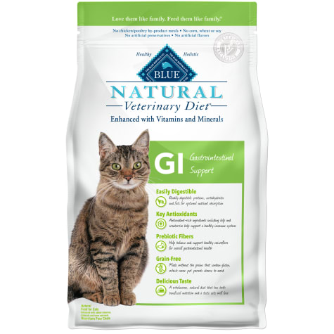 Blue Buffalo Blue Natural Veterinary Diet GI Gastrointestinal Support Dry Cat Food