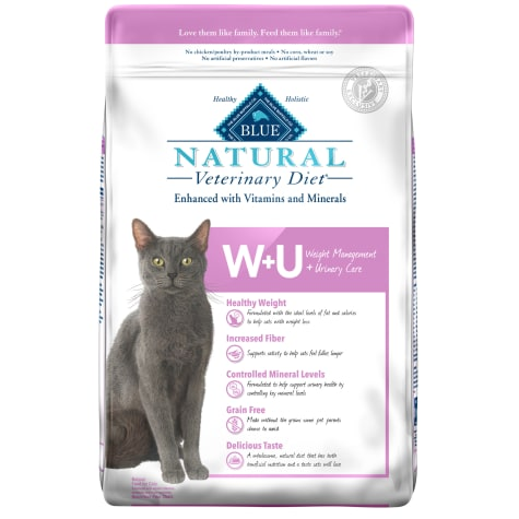 Blue Buffalo Blue Natural Veterinary Diet W+U Weight Management + Urinary Care Dry cat Food