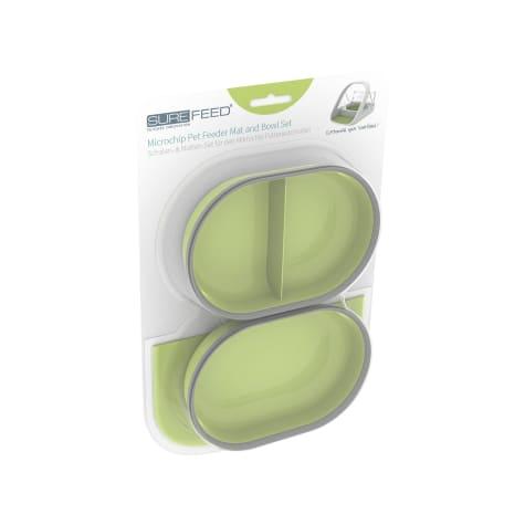 SureFlap SureFeed Green Mat & Bowl Set for Pets