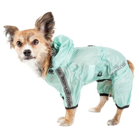 Dog Helios Torrential Shield Waterproof Multi-Adjustable Dog Windbreaker Raincoat