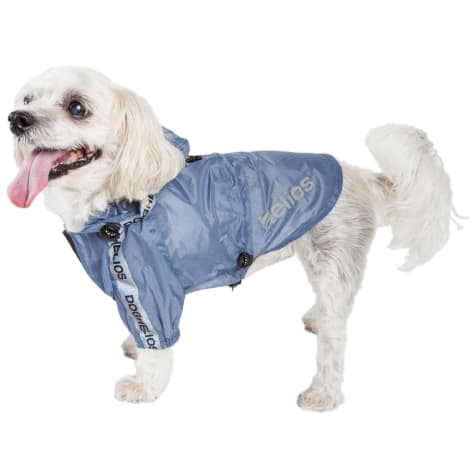 Dog Helios Torrential Shield Waterproof Blue Dog Windbreaker Raincoat