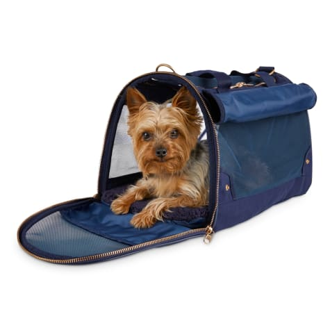 Modern Luxe Collection Slate Blue Pet Carrier