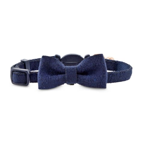 Modern Luxe Collection Slate Blue Cat Collar