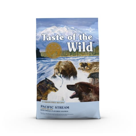Taste of the Wild Pacific Stream Grain-Free Smoked Salmon Dry Dog Food