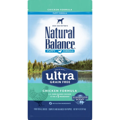 Natural Balance Original Ultra Grain Free Chicken Puppy Formula Dry Dog Food