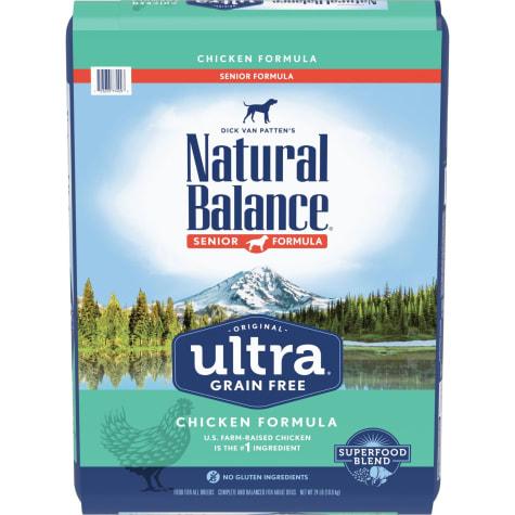 Natural Balance Original Ultra Grain Free Chicken Senior Formula Dry Dog Food