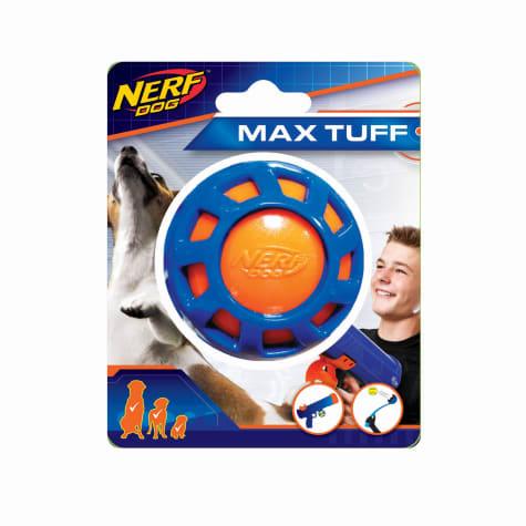 Nerf Overmolded Elite Exo Ball Dog Toy