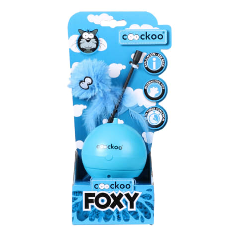 Petpals Group Blue Coockoo Foxy Toy for Pets