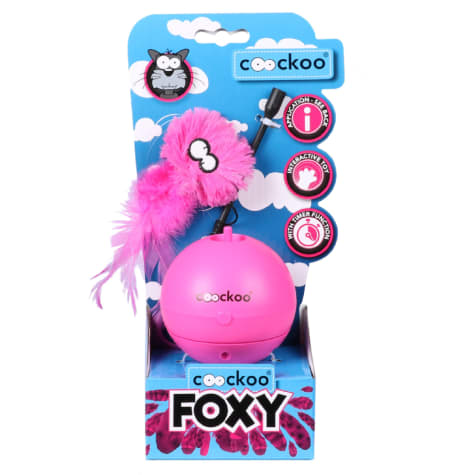 Petpals Group Pink Coockoo Foxy Toy for Pets