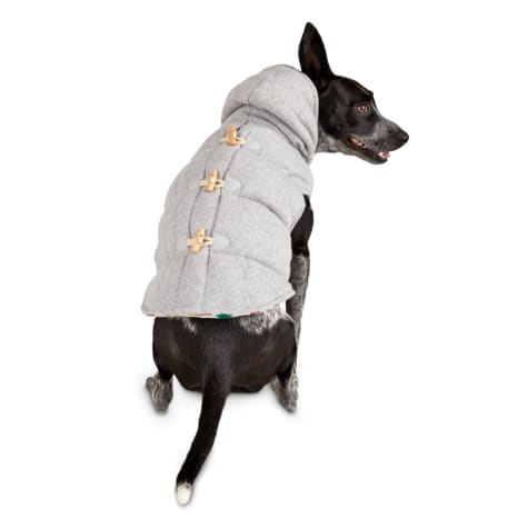 Bond & Co. Quilted Grey Dog Jacket