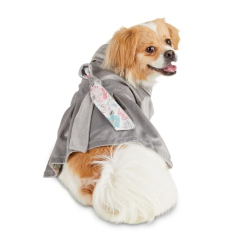 Bond & Co. Grey Secret Garden Dog Coat