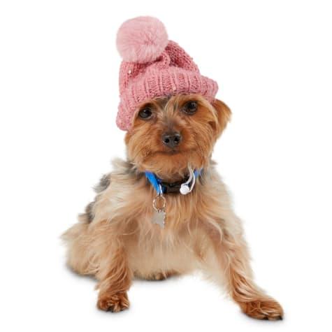 Bond & Co. Fluffy and Flashy Pom-pom Dog Beanie