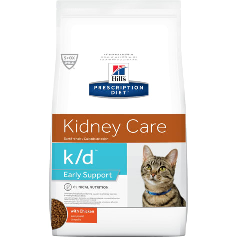 Hill's Prescription Diet k/d Kidney Care Early Support with Chicken Dry Cat Food