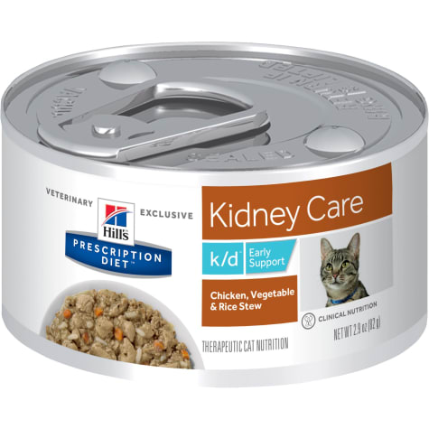 Hill's Prescription Diet k/d Kidney Care Early Support Chicken, Vegetable & Rice Stew Canned Cat Food