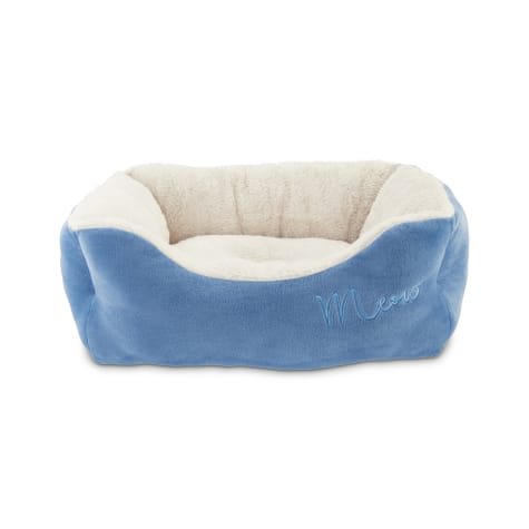 Harmony Meow Box Navy Cat Bed