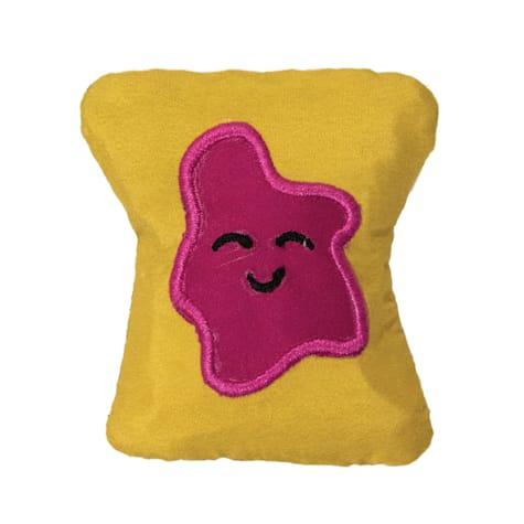 Petstages Tiny Toast Tosser Cat Chew Toys