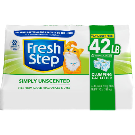 Fresh Step Ultra Unscented Clumping Cat Litter