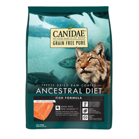 CANIDAE Grain Free PURE Ancestral Diet Salmon Dry Cat Food