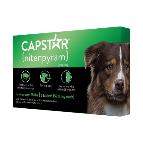 Capstar Flea Tablets for Dogs over 25 lbs.