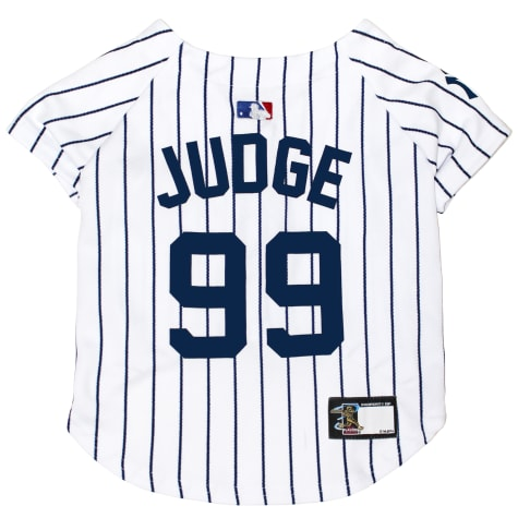 Pets First New York Yankees Aaron Judge Dog Jersey