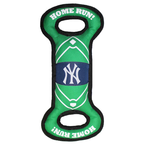 Pets First New York Yankees Nylon Field Toy for Dog