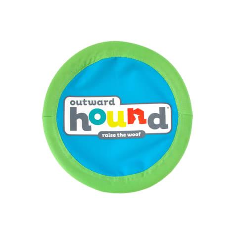 Outward Hound Blue Soft Fetch Flyer Dog Toy