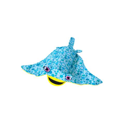 Outward Hound Floatiez Blue Stingray Dog Toy