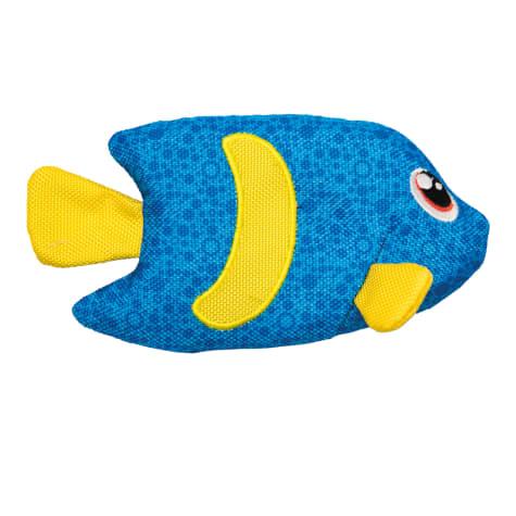 Outward Hound Floatiez Blue Angel Fish Dog Toy