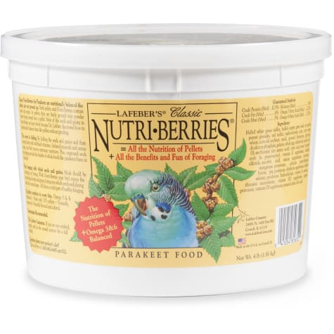 Lafeber's Classic Nutri-Berries Dry Food for Parakeets