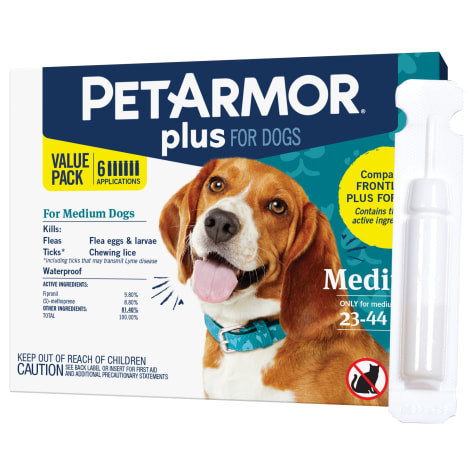 PetArmor Plus F&T Squeeze-On Dog 23-44 lbs.