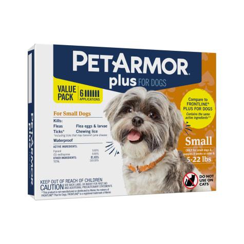PetArmor Plus Flea & Tick Squeeze-On Dog 5-22 lbs