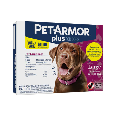 PetArmor Plus F&T Squeeze-On Dog 45-88 lbs.