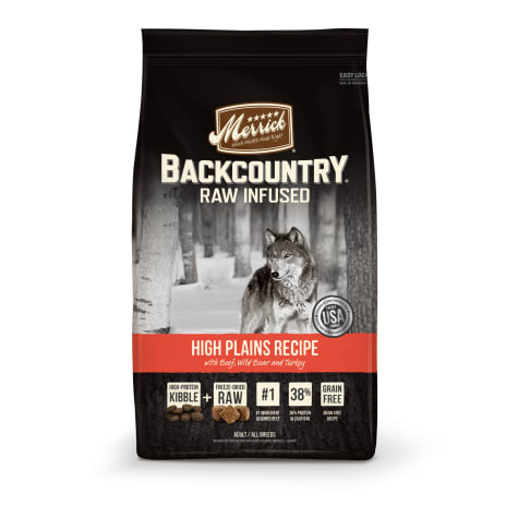 Merrick Backcountry High Plains Recipe Grain Free Dry Dog Food