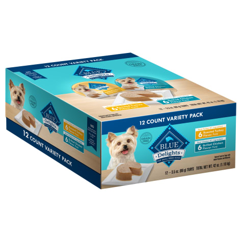 Blue Buffalo Divine Delights Variety Pack with Roasted Turkey and Grilled Chicken Wet Dog Food