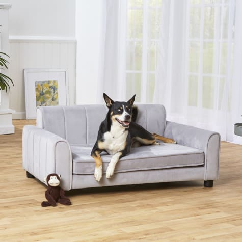Enchanted Home Pet Ludlow Gray Sofa