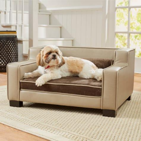 Enchanted Home Pet Lincoln Brown Sofa